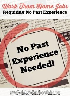 Do you need a work from home job requiring no past experience? Here is a big list of companies that may consider beginners for work from home!