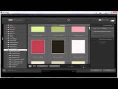 How Steph organizes her digital scrapbooking previews in Lightroom.