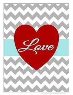 "I added ""I ""LOVE"" Chevron"" to an #inlinkz linkup!http://jonescreekcreations.blogspot.com/2013/01/i-love-chevron.html"