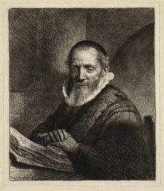 Mijn favoriete Rembrandt in Teylers Museum: Portret van de predikant Jan Cornelis Sylvius (B266)