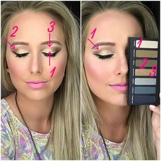 Younique Addiction Eye Shadow Palette 1 look. Find me on Facebook at Younique By Rachele (Rachele Lantz)