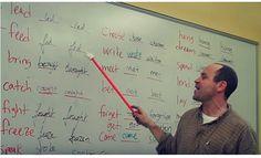 Apprendre les verbes irréguliers anglais en s'amusant, c'est possible !
