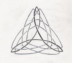 Celtic Triangle Tattoo Design by Qwonk.deviantart.com on @deviantART