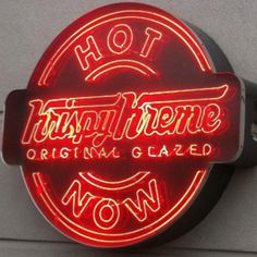 Good Hot Light By Day. Krispy Kreme ...