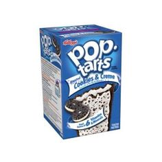 Kellogg's Pop-Tarts Frosted Cookies Creme Toaster Pastries, 14.1 oz... ❤ liked on Polyvore featuring food and groceries