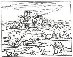 """Résultat de recherche d'images pour """"troupeau de mouton dessin"""""""