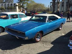 Classic Dodge Charger Cars and Coffee San Francisco March 2015