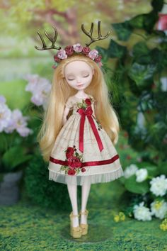 Dress for Monster High/ EAH doll 1/6 size by ElenaShowRoom