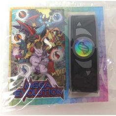 Pokemon Center 2014 Mega Ring Movie Version Rubber Wristband