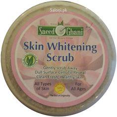 Saeed Ghani Skin Whitening Scrub