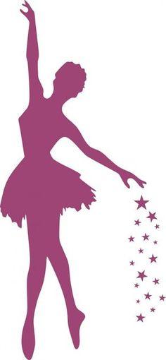 festa de bailarina, ideias para festa, bailarina Ballerina Silhouette, Ballerina Art, Ballerina Ornaments, Paper Art, Paper Crafts, Atelier D Art, Diy Canvas Art, Art Lessons, Illustration