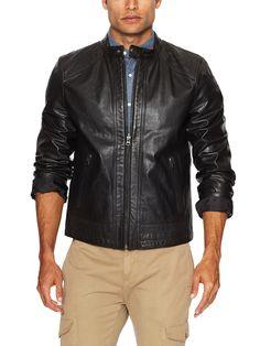 Shoulder Cut Racer Jacket by Levi's Outerwear at Gilt