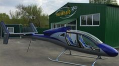 Meet Afalina: Russian manufacturer reveals the world's cheapest helicopter. Imag from http://heliwhale.ru