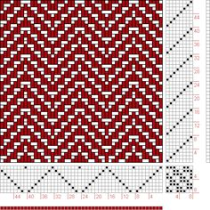 Hand Weaving Draft: Page 336, Figure 4, Orimono soshiki hen [Textile System], Yoshida, Kiju, 8S, 8T - Handweaving.net Hand Weaving and Draft...