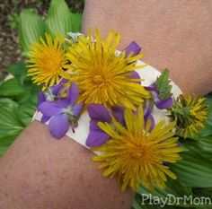 Make your own nature bracelets