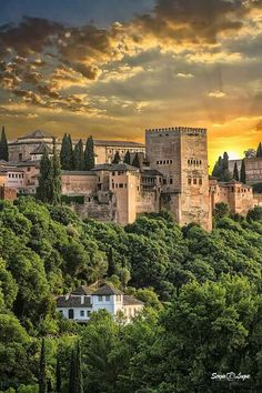 I'll be visiting soon. Beautiful Castles, Beautiful World, Beautiful Places, Alhambra Spain, Andalusia Spain, Places To Travel, Places To Visit, Holiday Places, Le Palais