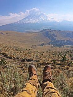 """patagonia: """" Resting below the great Popocatepel @ Parque nacional Izta-Popo, Estado de Mexico. """""""