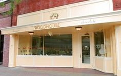 The fabulous Woodhouse chocolate store in the Napa Valley!