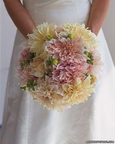 Dahlia Bouquet | Martha Stewart Weddings