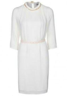 White silk dress / Kaviar Gauche