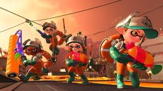 Watch Splatoon 2's Newly-Announced Co-Op Mode Salmon Run in New Gameplay Video