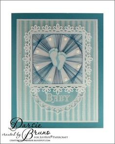 Tutorial Tuesday - Paper Embroidery with Spellbinders Pierced Dies with Darsie Bruno   JustRite Papercraft Inspiration Blog