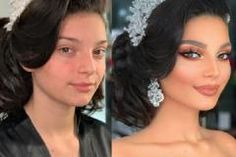 For brides who want a dramatic, luminous style that looks like it's straight out of a bridal magazine, makeup artist Arber Bytyqi has them covered. Natural Wedding Makeup, Wedding Makeup Artist, Bridal Makeup, Natural Makeup, Glamorous Makeup, Flawless Makeup, School Looks, Circus Makeup, Barely There Makeup