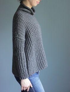0c47a682f3bf22 Bosco pattern by Elizabeth Smith. 3 Needle Bind OffElizabeth SmithSweater  Knitting ...