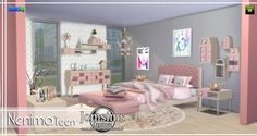 Teen bedroom sims 4 the sims, sims 4 teen, sims sims 4 mod Mod Furniture, Sims 4 Cc Furniture, Bedroom Furniture Sets, Sims 4 Bedroom, Teen Bedroom, Mods Sims, Casas The Sims 4, Sims 4 Toddler, Kids Bedroom Sets
