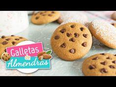 Galletas de almendras | Receta fácil | Quiero Cupcakes! - YouTube