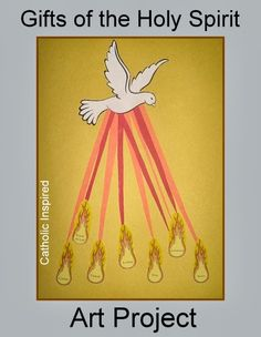 Gifts of the Holy Spirit ~ Paper Plate Craft {Spanish, too!} - Catholic Inspired