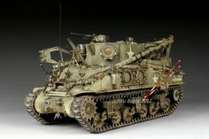 M32B1 tank recovery vehicle