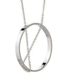 $144 Inner Circle Necklace 101 Sterling Silver #necklaces