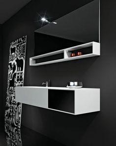 Mobile Bagno Sospeso Design 15