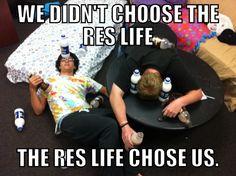 The life of an RA