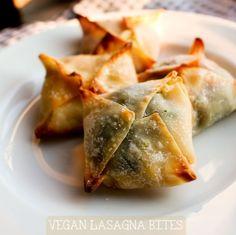 Vegan Lasagna Bites