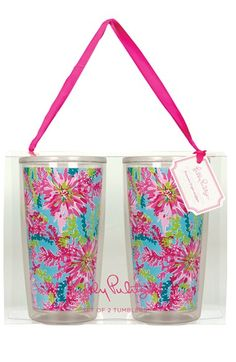 Lilly Pulitzer® Tumblers (Set of 2) available at #Nordstrom