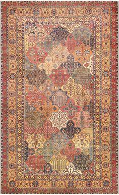 17th Century Persian Khorassan Carpet 47074 Main Image - By Nazmiyal…
