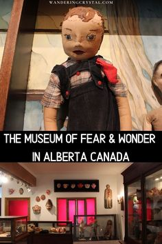 Visit this quirky, unusual and unique small rural museum in Alberta Canada. Canadian Travel, Canadian Rockies, Haunted Objects, Alberta Travel, Travel Oklahoma, Travel Goals, Travel List, Haunted Places, Alberta Canada