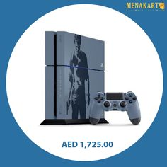 PlayStation 4 500GB Console - Uncharted 4 Limited Edition Bundle #playstation4 #ps4 #consoles #games #gaming #gamingconsole #online #shopping #menakart