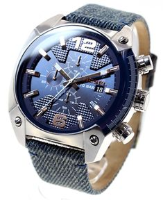 d64caf950e00 Buy this authentic Diesel Overflow Timeframes AW 16 Chronograph Fabric  Men s Watch DZ4374 On Sale at