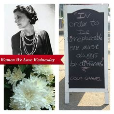 Women We Love Wednesday - Dear Coco, Happy Birthday | Aria Boutique