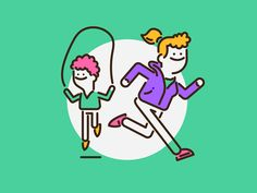 Run by Patswerk #Design Popular #Dribbble #shots