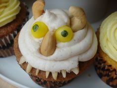 where the wild things are cupcake
