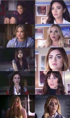 They've all changed so much actually love this comparison, the girls have been so much and have changed so much and we've been able to see them grow and go through everything with them, I'll be so sad when it finishes forever soon ☹️, only 3 episodes left.
