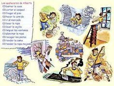 Las tareas de la casa (ficha)