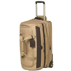 "Travelpro Kontiki Collection Expandable Drop-Bottom Duffel Bag - 26"", Rolling"