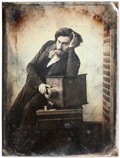 Gustave Le Gray Autoportrait 1848 Remerciement Serge Plantureux