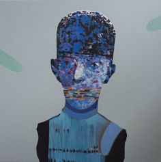 Blue All Art, Batman, Contemporary, Superhero, Kenya, Artwork, Portraits, Paintings, Fictional Characters