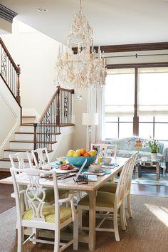 coastal dining room   Jan Jones LLC